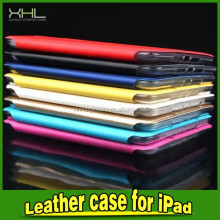 High Quality PU+TPU Transparent Candy Color Cover For IPad Air 2