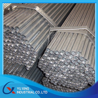 50mm pre galvanized steel pipe weight per meter for irrigation