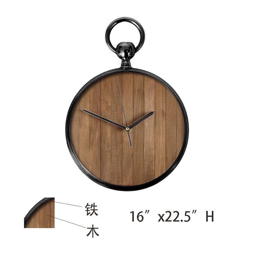 Rope hanging modern wall clock home decorative