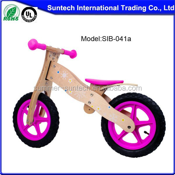Cheap kids go karts balance bike cute wooden kids bikes bicycle for sale