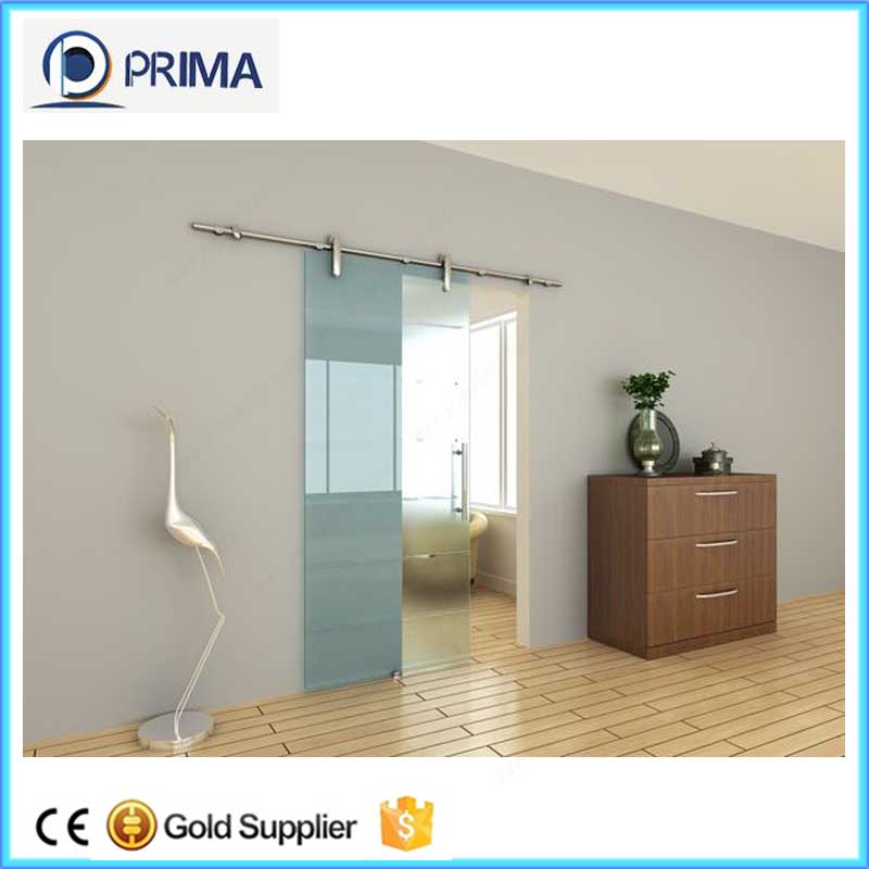 PRIMA customized glass sliding barn interior bedroom doors