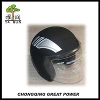 YARUN Black Motorcycle Helmet with Good Price