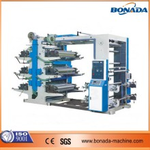 High speed roll to roll plastic film flexo printing machine/stack type flexo printer letterpress/flexographic printing machine