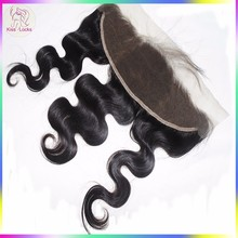 100% Authentic Filipino Human Hair Lace Frontal Closure Body Wave Texture No Chemical Process