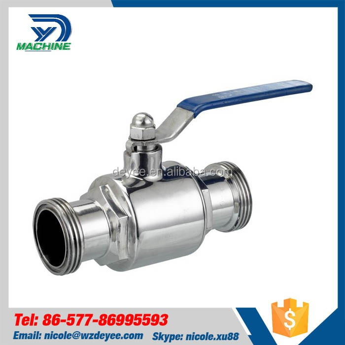 Wholesale Products Sanitary Stainless Steel Triclamp Ball Valve