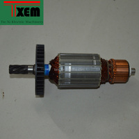 High power AC motor rotor for Maktec/Makita cutting machine 355