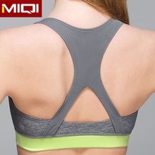 Seamless women sports running bra , fashionable gym fitness yoga wear for ladies /women /girls