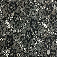 beatiful flower pattern lace fabric for bridal wedding dress TH-8817