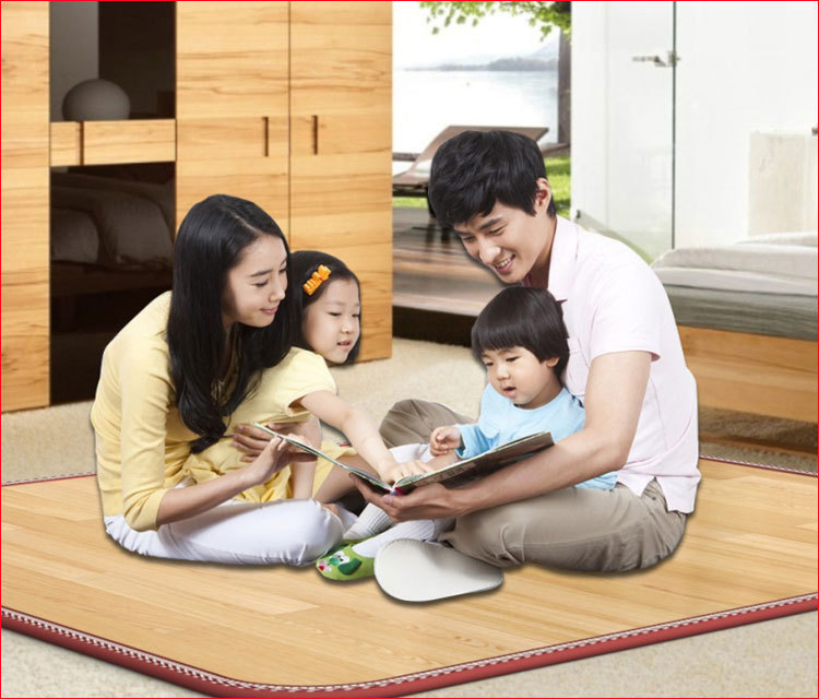 Decorative Waterproof Smart Heating Kitchen Floor Mat