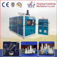 Automatic hi-speed hydraulic plastic thermoforming machine for disposable glass
