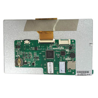 7 inch lcd monitor industrial module tft dispaly With / Without Resistive Touch Screen