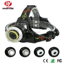 Rechargeable 1000 lumen XM-L2 and COB LED Headlamp,Flashlight Camping hunting Headlight