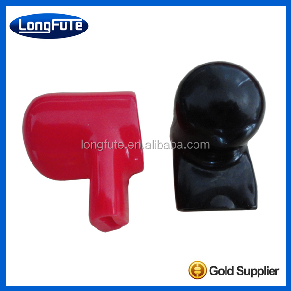 Soft rubber terminal plug cover / PVC Plastic cable insulated protective cover / Right Arrow Battery Terminal Caps