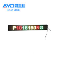 2016 Hot Sale LED Scrolling Message Sign,Dot Matrix LED Digital Clock Display