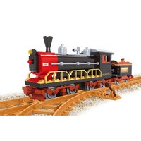 Best selling amazing kids classic train self assemble diy block toys