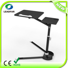 2014 Newest Style GuangDong Leadfar Flexible Adjustable Laptop Floor Stand For Tablet PC / Ipad2 / Ipad 3
