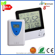 Professional Digtal CE Certified ROHS Advertising Thermometer Humidity Mete In Out With Max Min, Moon Phase