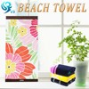 100% cotton velour reactive printed simple Germany towel fabric