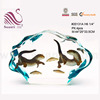 Lovely Crystal Swingming Fish Crafts For
