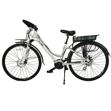 2017 new style E bike electronical city bike with pedals assistant