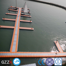 Polyethylene plastic pontoon block floating dock