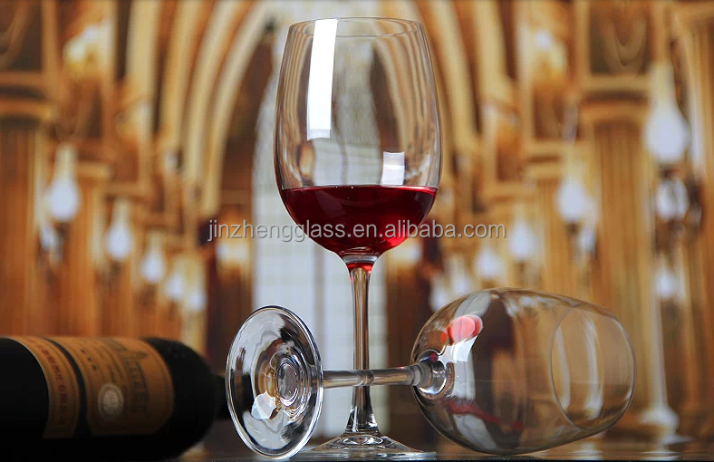 wholesale high quality 350ml red wine glass/drinking glass/ crystal glasses