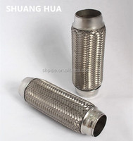 auto exhaust flexible tube muffler