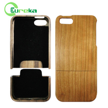 High quality real solid hard wood phone case for IPhone5,5s,5g