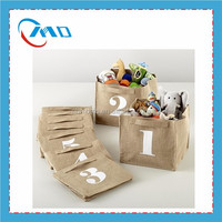 Simple Fashion Custom Toys Jute Storage