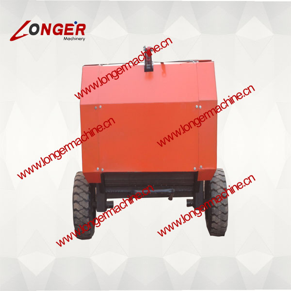 hay and straw baler machine/Round Hay Baler/grass bundling machine