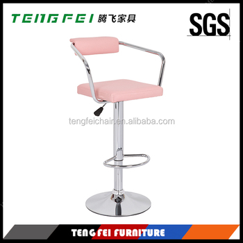 Certificated bar chair, Certificated SGS gas lift,385mm chroming base,360 degree swivel!