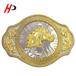 Manufacturers Solid Brass Name Western Parts Custom Belt Buckle Metal