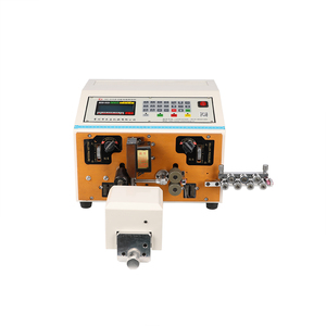 HMC-200+T electric wire cutting stripping and twisting machine price