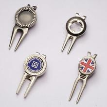 Custom metal golf divot tool wholesale