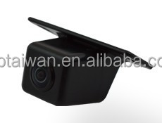 Panoramic camera 180 degrees mini drilled hole type tailgate handle back up camera