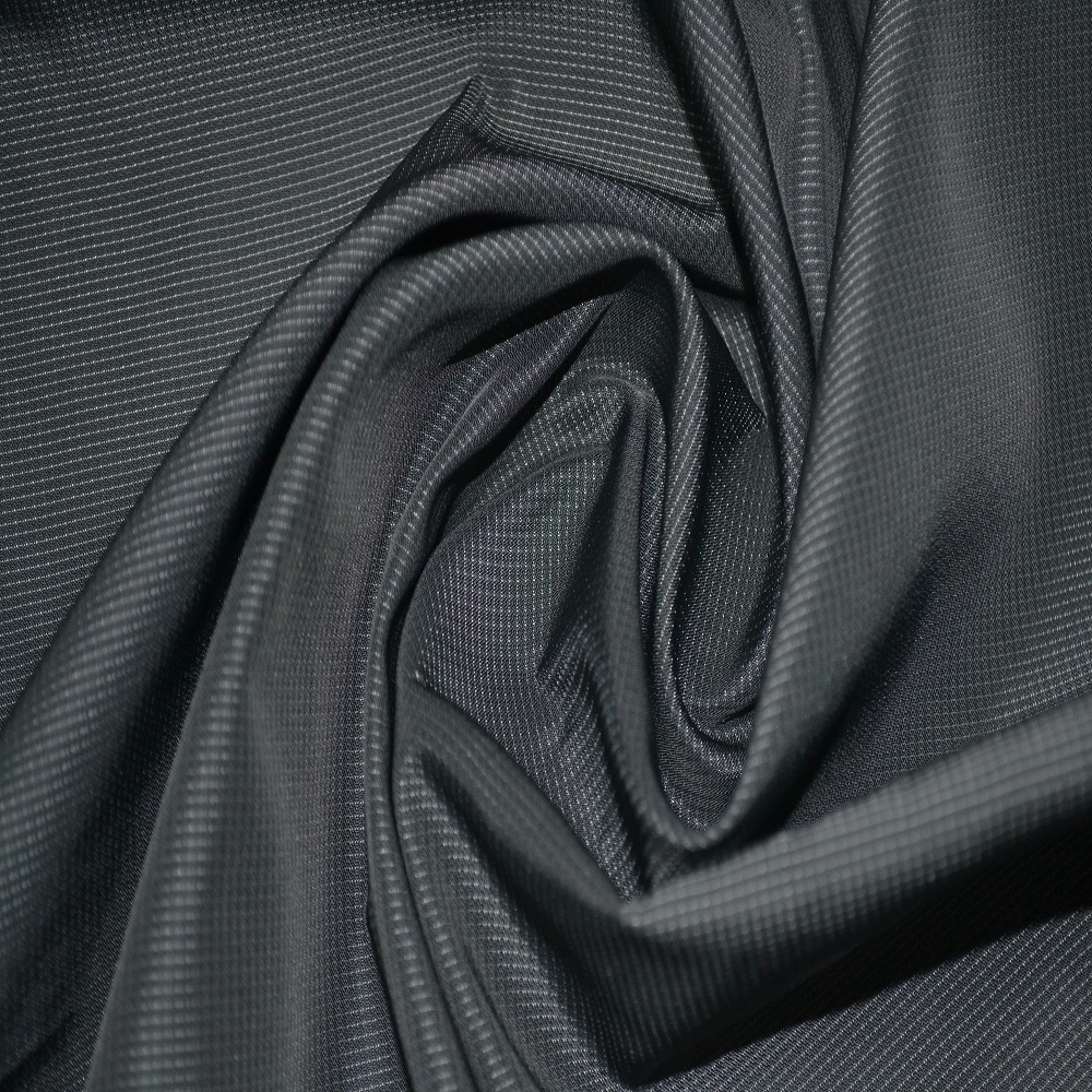In-stock items supply type 100%polyester cationic jacquard bonded fabric for decorative cloth