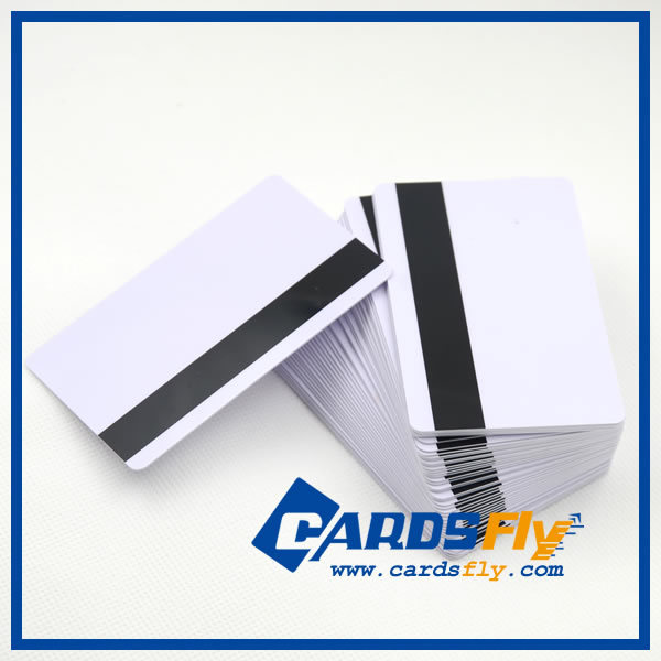 ISO standard size high quality pvc blank magnetic stripe gift card