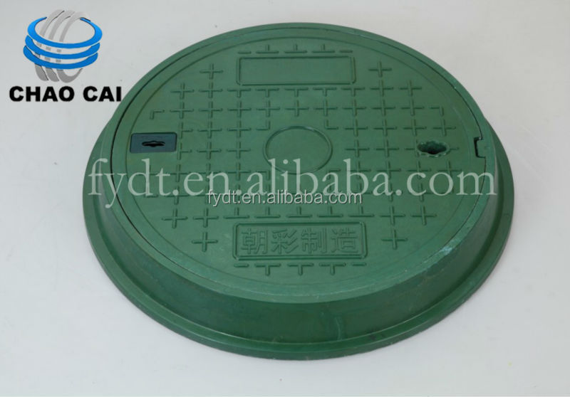 Professional SMC Sewer Cover Manufacturer Brand CHAOCAI Used Manhole Cover CC-2286