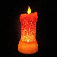 home decor or holiday gift electric flickering candle light
