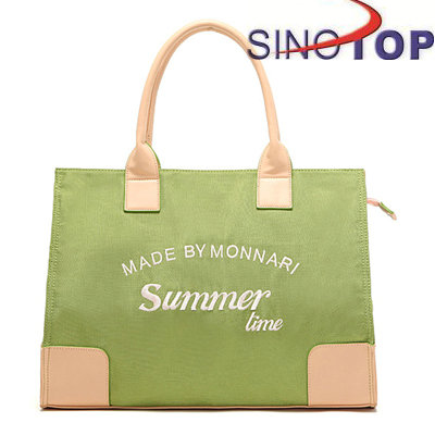 Custom Made Felt Carrier Bag Folding Shopping Bag