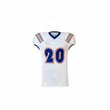 wholesale custom sublimation made american practice football jersey