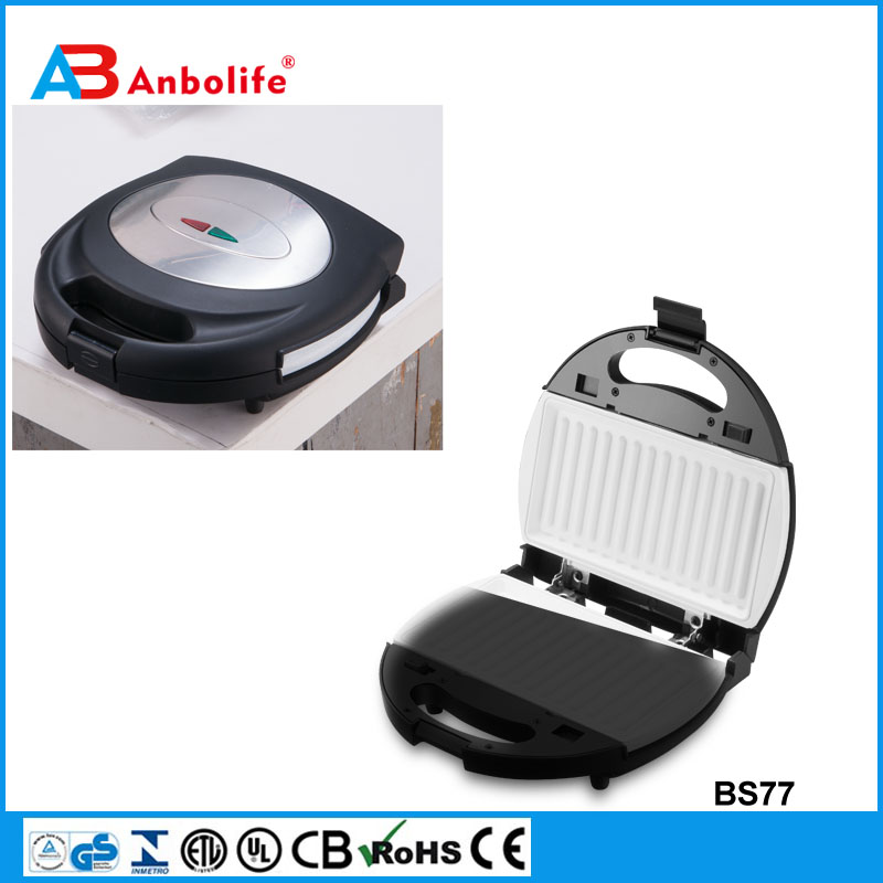 home use Heavy Duty Commercial Use Electric Barbecue Grill/Griddle Contact Panini Sandwich Maker