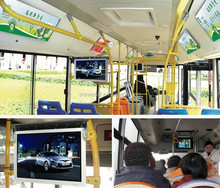 "24"" inch LCD bus screen digital advertising player"