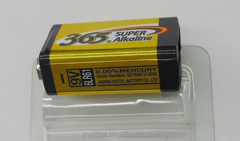 365 Super Alkaline 9V / 6LR61 battery