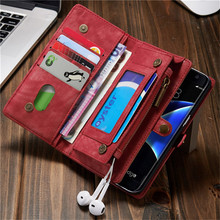 Leather Wallet Case for Samsung Galaxy S8 Retro Fashion Flip Phone Cover Bag for Samsung S8 plus Card Holder