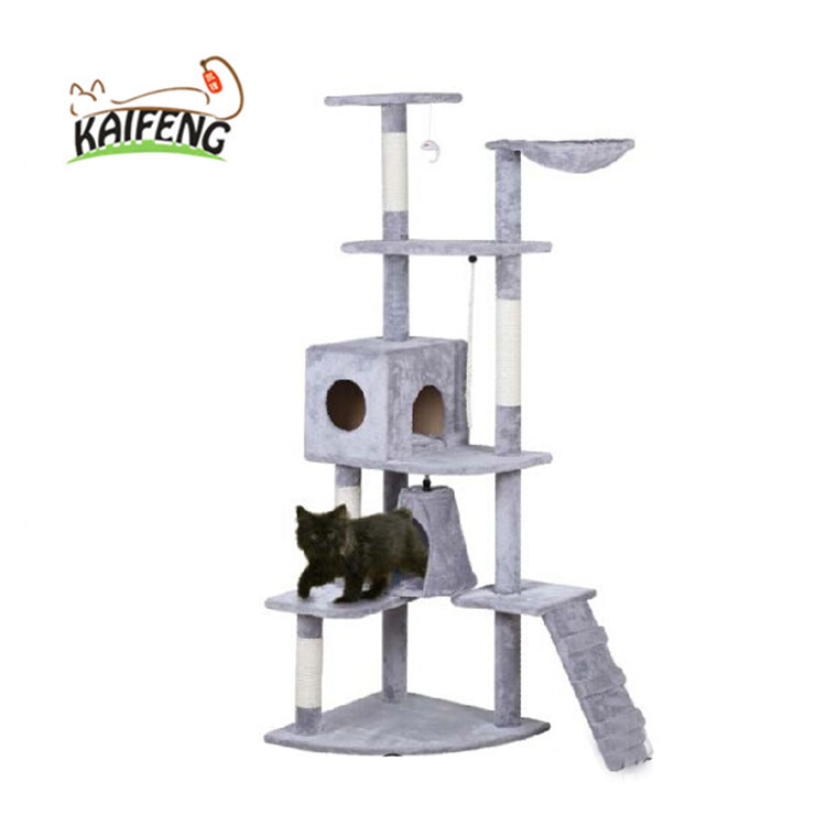 Factory Direct Price Pet Club Cat Scratching Post Tree