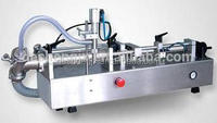 Semi-automatic pneumatic filler for detergent