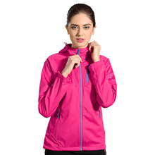 100% Polyester Woman Softshell Woodland Windbreaker Sports Jackets