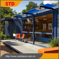 New 40ft Prefab Shipping Container Office Home