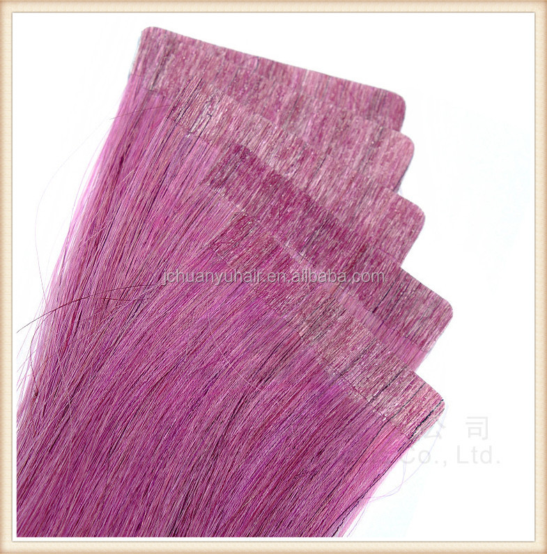 factory price top quality human virgin remy tape hair